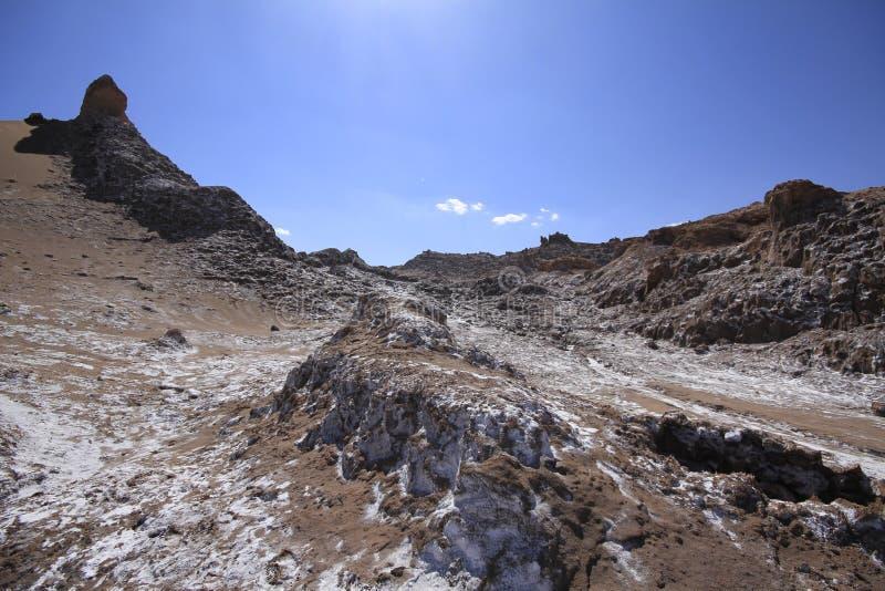 Download Valle Del Luna - Dolina Księżyc W Atacama, Chile Obraz Stock - Obraz złożonej z pył, diuny: 57671697