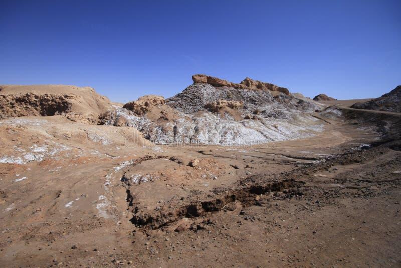 Download Valle Del Luna - Dolina Księżyc W Atacama, Chile Zdjęcie Stock - Obraz złożonej z pył, południe: 57671740