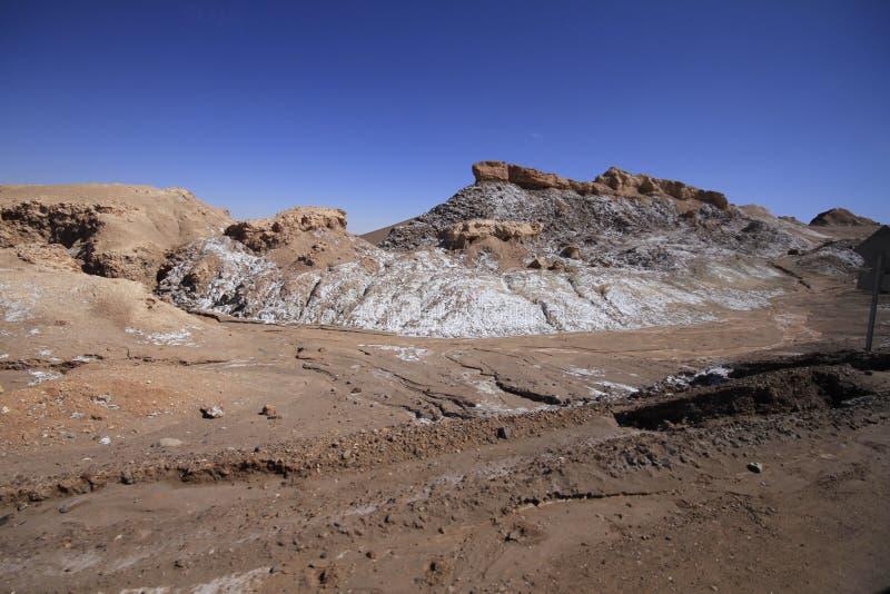 Download Valle Del Luna - Dolina Księżyc W Atacama, Chile Obraz Stock - Obraz złożonej z pył, suchy: 57671755