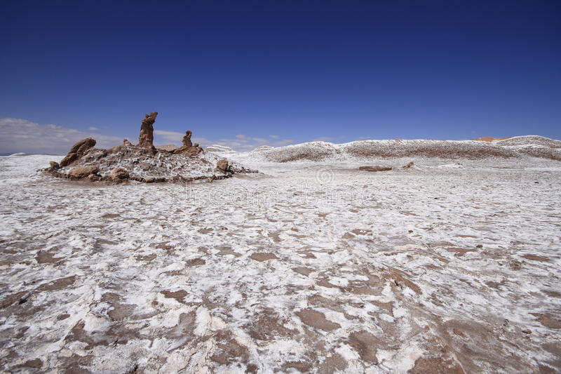 Download Valle Del Luna - Dolina Księżyc W Atacama, Chile Obraz Stock - Obraz złożonej z diuny, chmury: 57671797