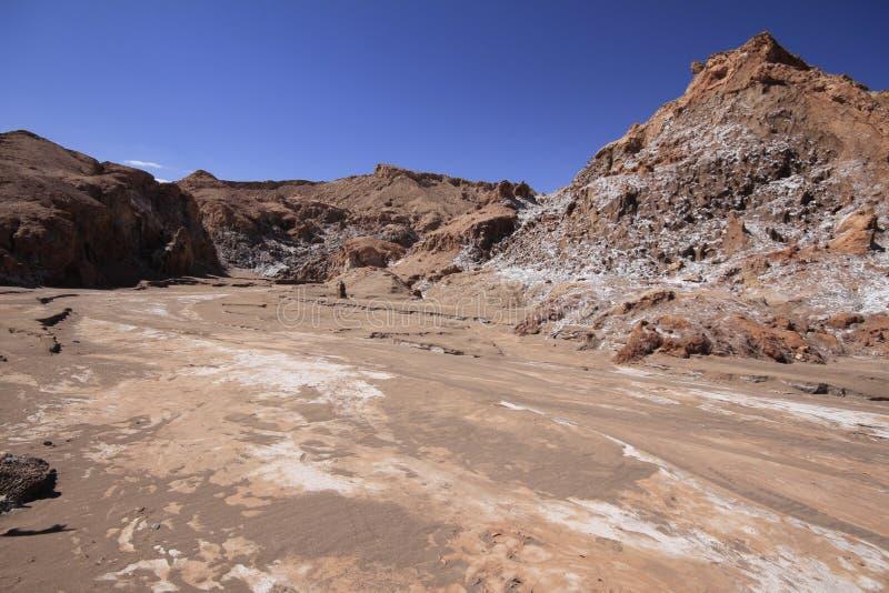 Download Valle Del Luna - Dolina Księżyc W Atacama, Chile Obraz Stock - Obraz złożonej z mieszkania, atacama: 57671805