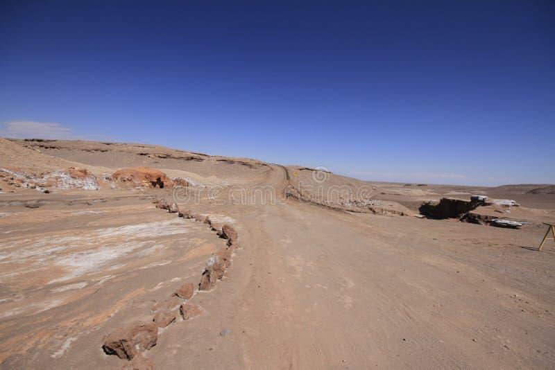 Download Valle Del Luna - Dolina Księżyc W Atacama, Chile Obraz Stock - Obraz złożonej z piasek, wzgórza: 57671817