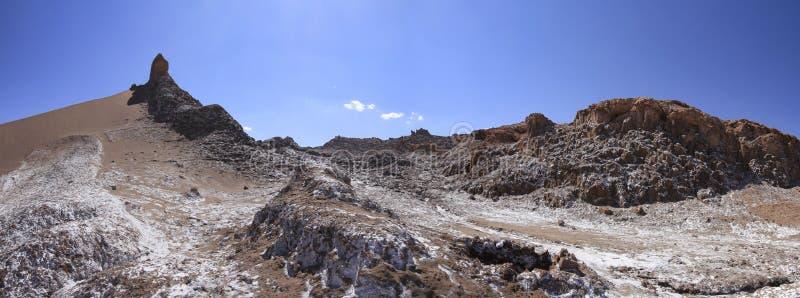 Download Valle Del Luna - Dolina Księżyc W Atacama, Chile Obraz Stock - Obraz złożonej z mieszkanie, wzgórze: 57671855