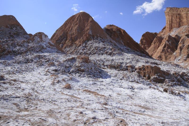 Download Valle Del Luna - Dolina Księżyc W Atacama, Chile Obraz Stock - Obraz złożonej z chmury, atacama: 57671937