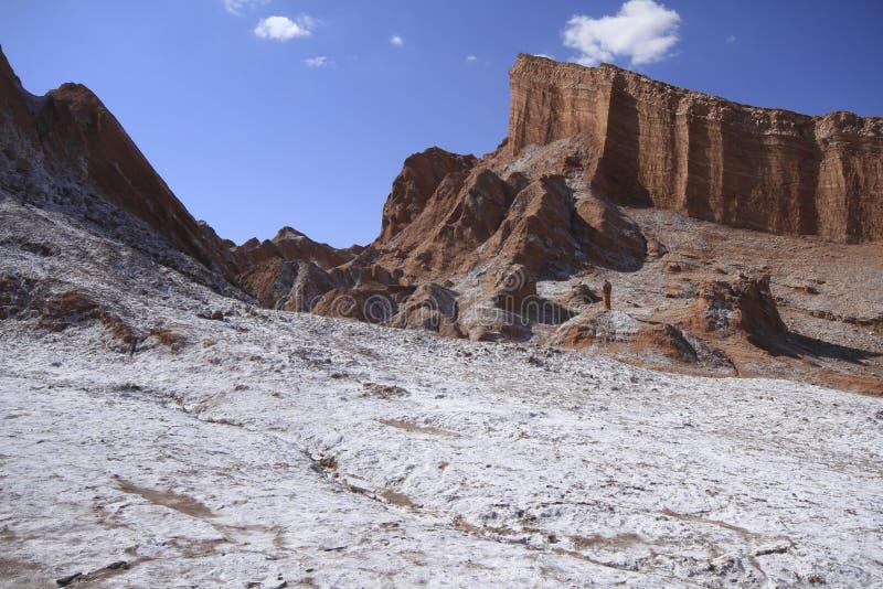 Download Valle Del Luna - Dolina Księżyc W Atacama, Chile Zdjęcie Stock - Obraz złożonej z wzgórze, piasek: 57671962