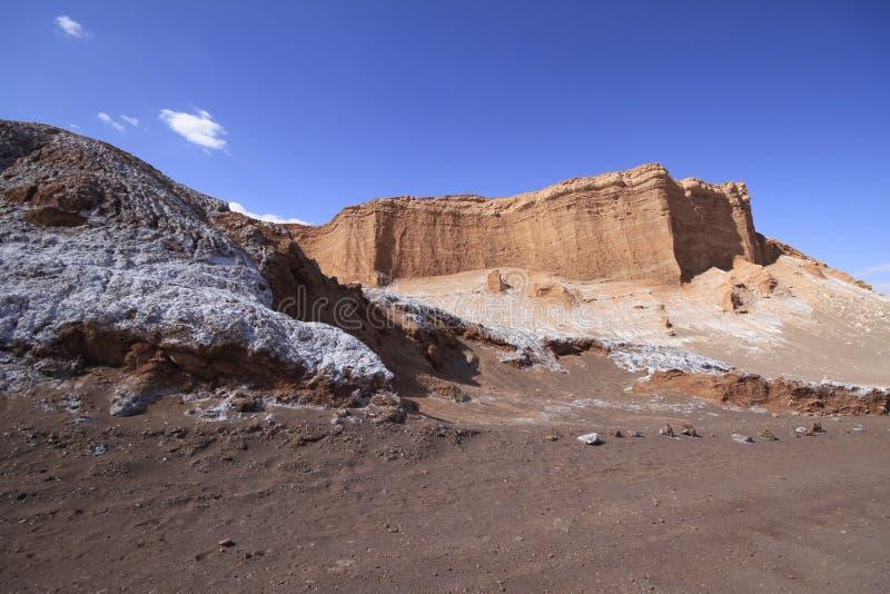 Download Valle Del Luna - Dolina Księżyc W Atacama, Chile Zdjęcie Stock - Obraz złożonej z kratery, piasek: 57672010