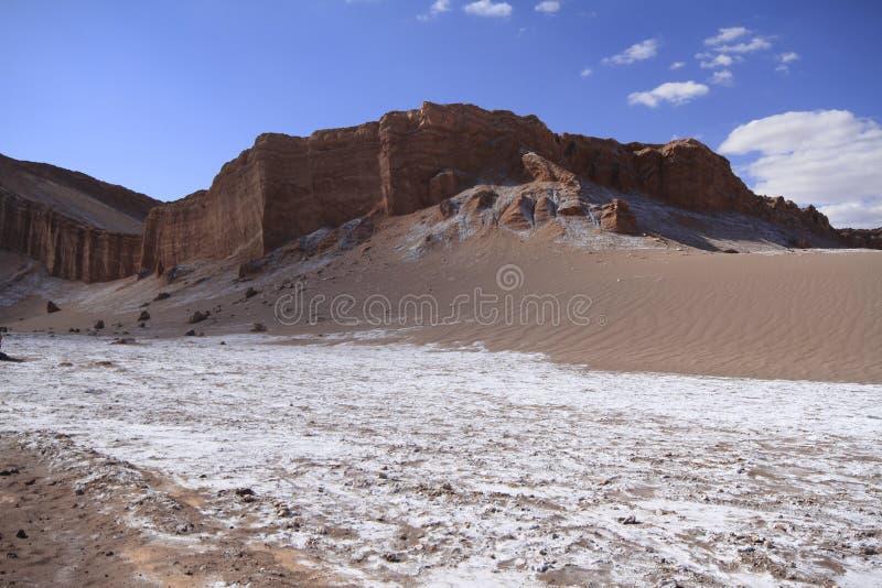 Download Valle Del Luna - Dolina Księżyc W Atacama, Chile Zdjęcie Stock - Obraz złożonej z wzgórza, księżyc: 57672050