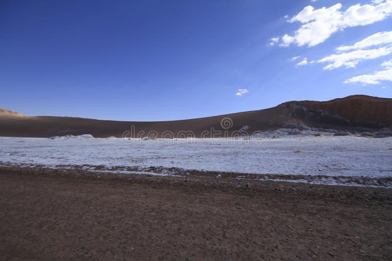 Download Valle Del Luna - Dolina Księżyc W Atacama, Chile Zdjęcie Stock - Obraz złożonej z mieszkanie, pył: 57672142