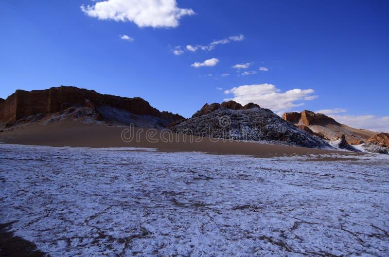 Download Valle Del Luna - Dolina Księżyc W Atacama, Chile Zdjęcie Stock - Obraz złożonej z valle, dolina: 57672150