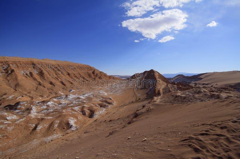 Download Valle Del Luna - Dolina Księżyc W Atacama, Chile Zdjęcie Stock - Obraz złożonej z diuna, diuny: 57672402