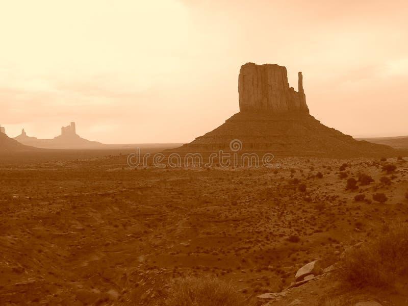 Valle del monumento foto de archivo