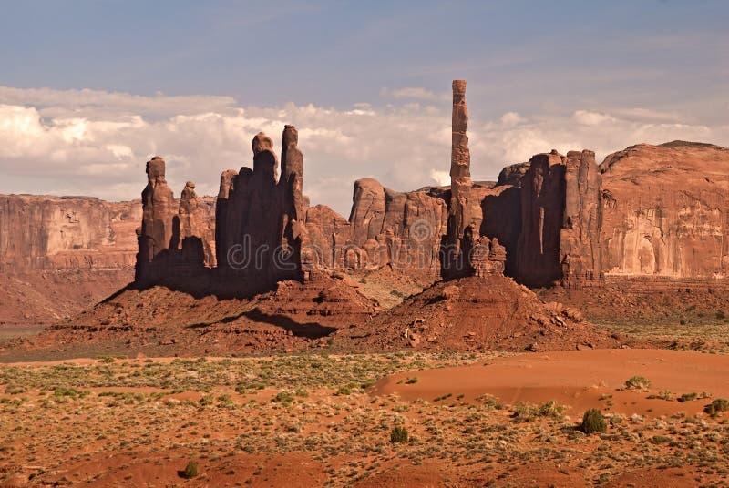 Valle del monumento immagine stock