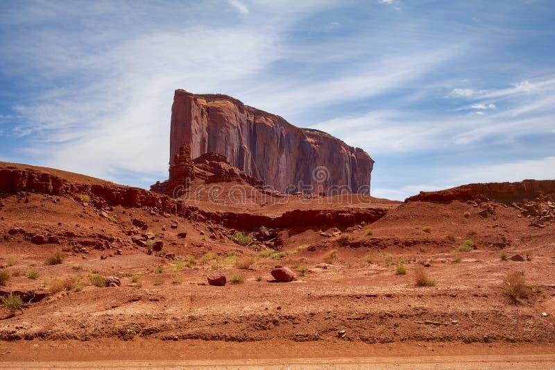 Valle del monumento - Arizona fotografia stock libera da diritti