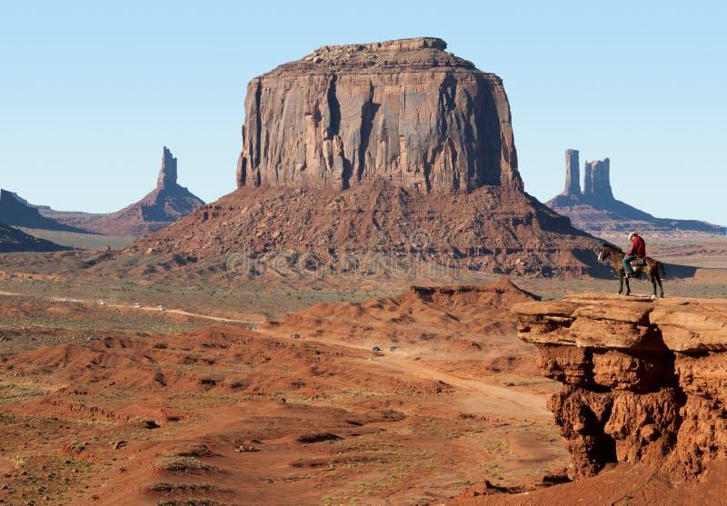 Valle del monumento nel sud-ovest di U.S.A. fotografia stock