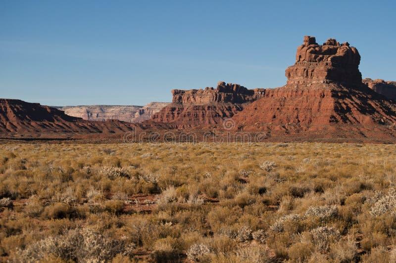 Valle del paisaje de dioses imagen de archivo