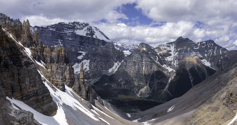 Valle del Paraíso y Gran Sentinel foto de archivo libre de regalías