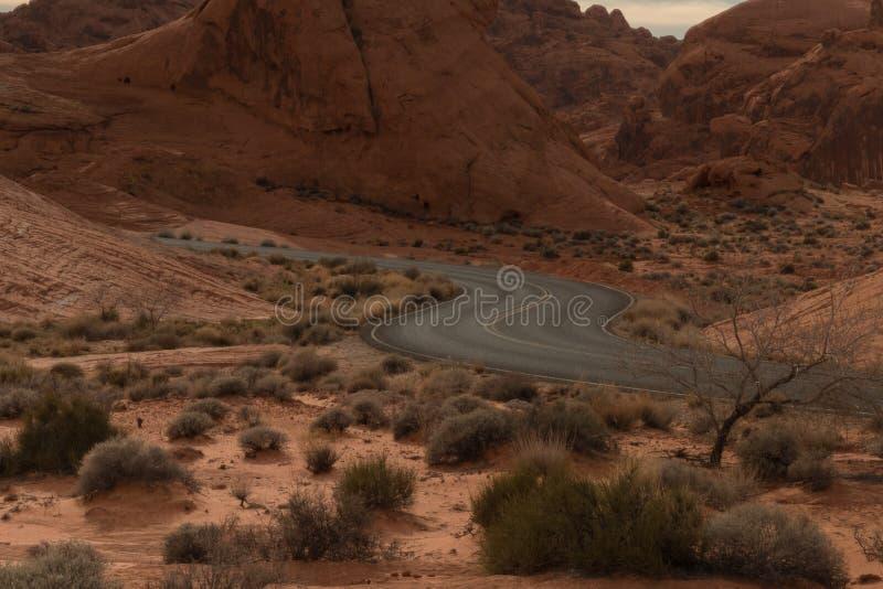 Valle del parco di stato del fuoco fotografie stock libere da diritti