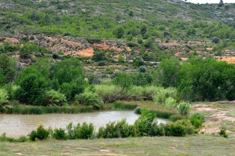 Valle del Turia royaltyfri bild