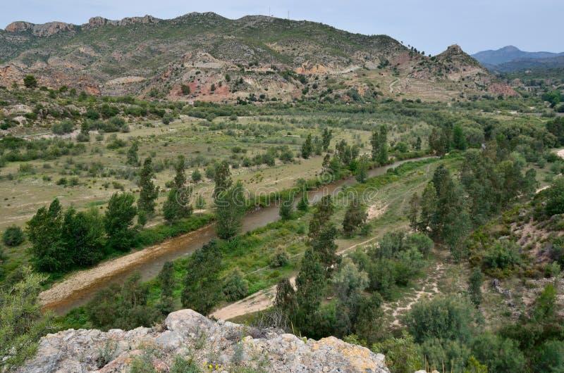 Valle del Turia arkivbild