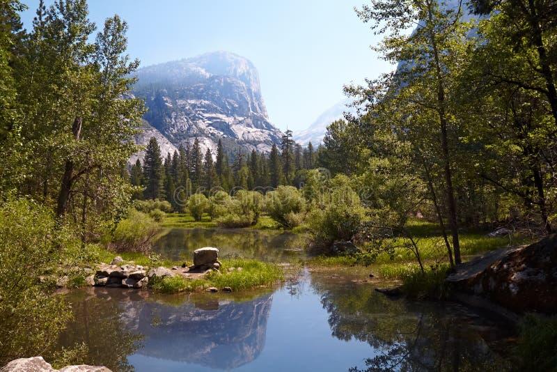 Valle del Yosemite immagini stock