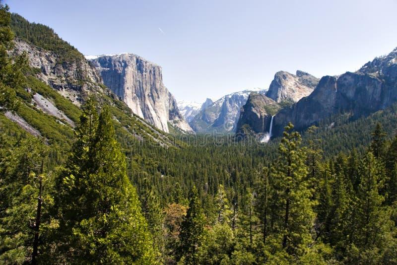 Valle del Yosemite immagini stock libere da diritti