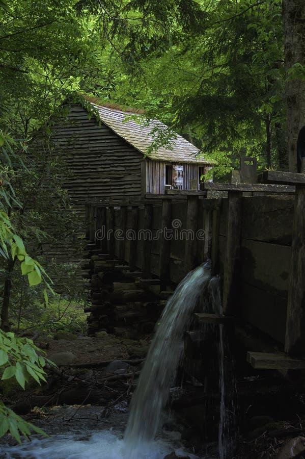 Valle della baia di Cades in Tennessee Smoky Mountains fotografie stock libere da diritti