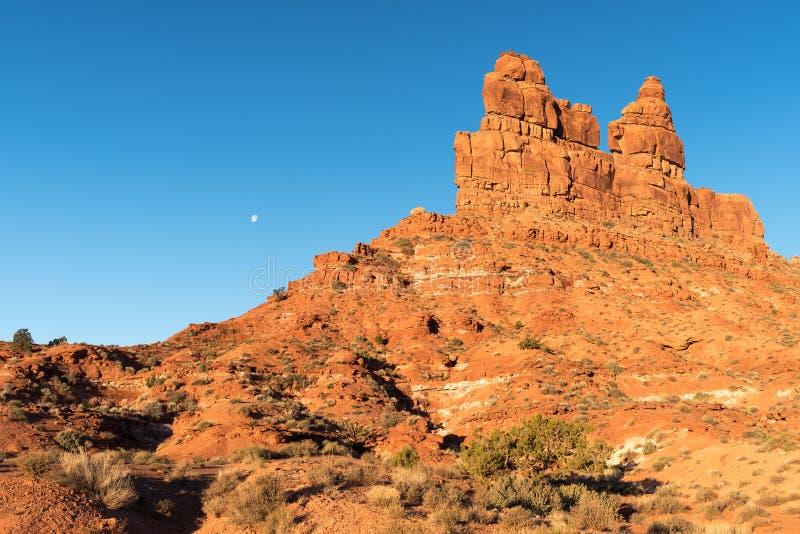 Valle delle formazioni dei nell'Utah del sud fotografie stock