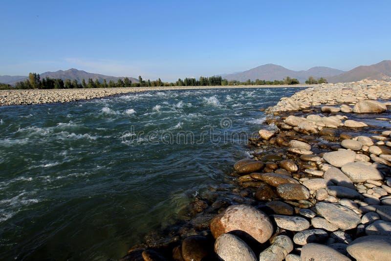 Valle dello schiaffo, Pakistan fotografia stock libera da diritti