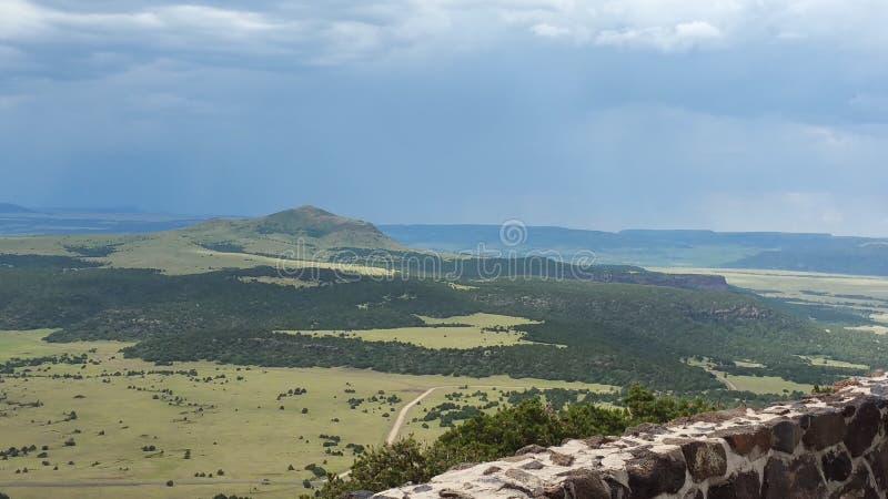 Valle después de la tormenta fotografía de archivo