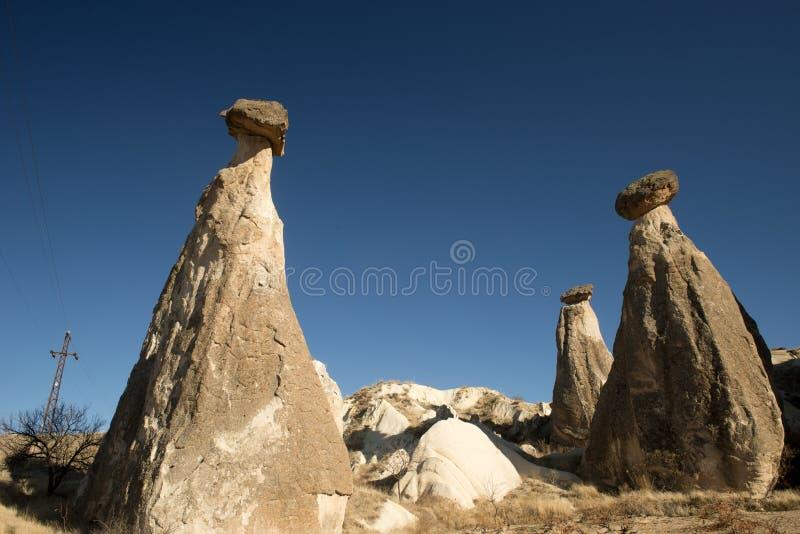 Valle di amore, regione di Goreme, Turchia fotografia stock