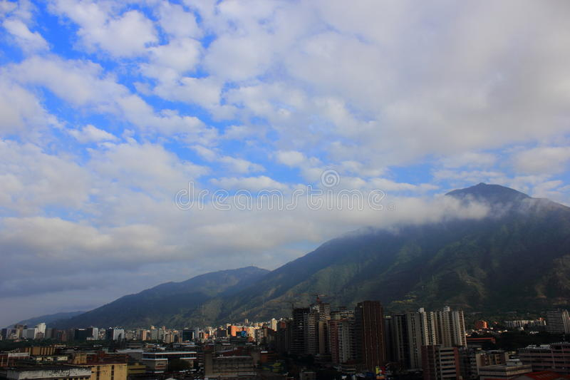Valle di Caracas immagine stock libera da diritti
