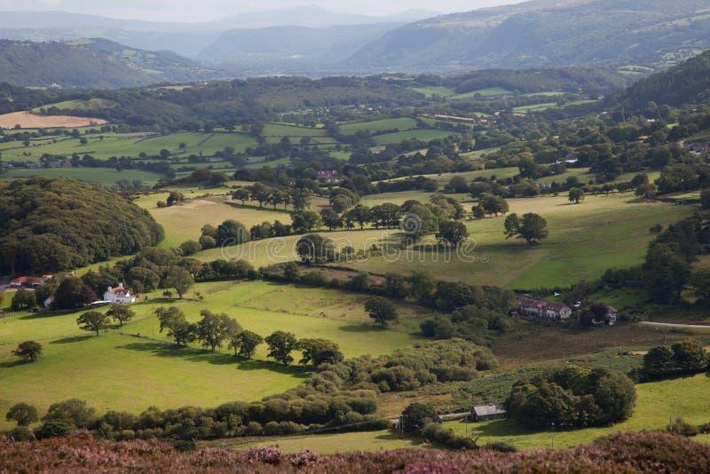 Valle di Conwy immagini stock libere da diritti