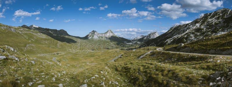 Valle di Durmitor immagini stock libere da diritti