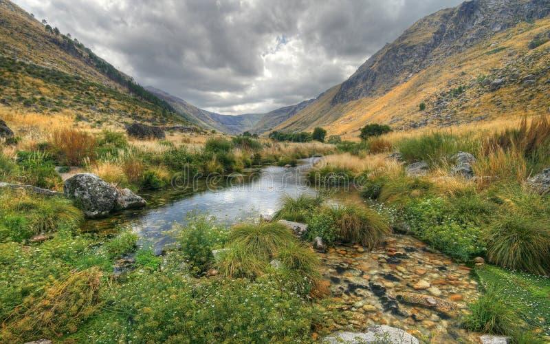 Valle di Glaciar fotografia stock libera da diritti