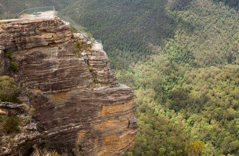 Valle di Grose in montagne blu Australia immagini stock libere da diritti