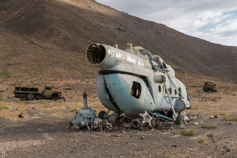 Valle di Kapisa in Afghanistan fotografia stock