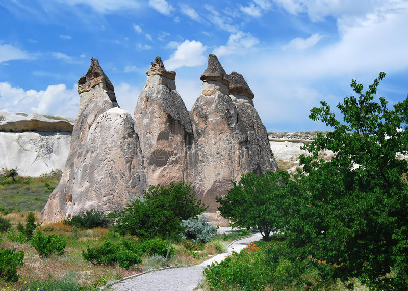 Valle di Pasa Baglari in Turchia immagini stock libere da diritti