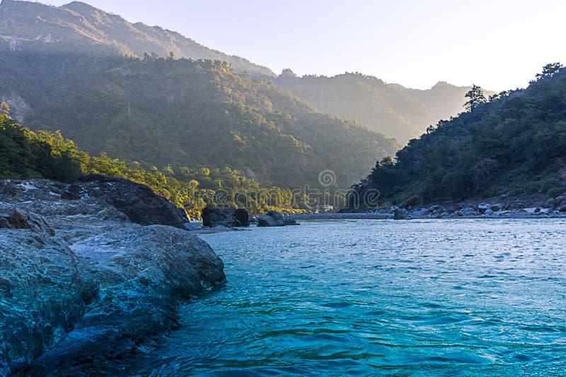 Valle di Rishikesh fotografie stock libere da diritti
