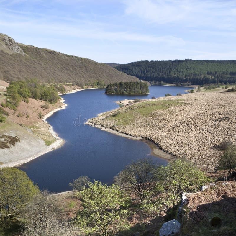 Valle di slancio, Galles fotografia stock libera da diritti