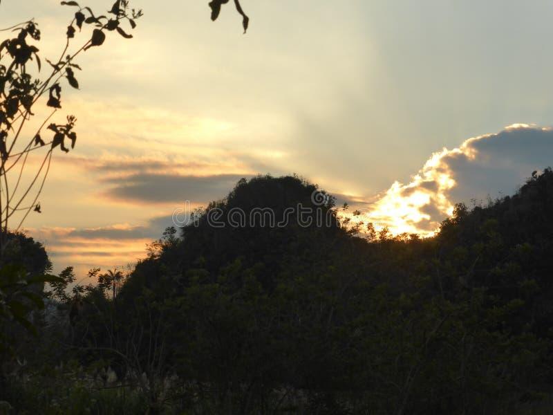 Valle di Vinales, Cuba fotografia stock libera da diritti