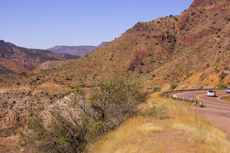 Valle escarpado del barranco del río Salt fotografía de archivo