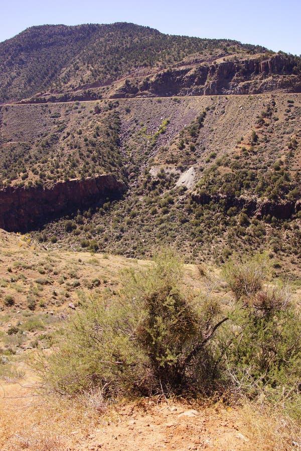 Valle escarpado del barranco del río Salt fotos de archivo