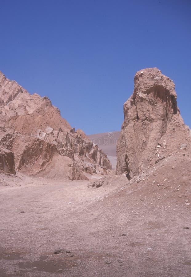valle för de-laluna moon dal arkivbilder