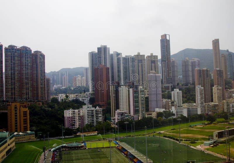 Valle felice, isola di Hong Kong fotografia stock