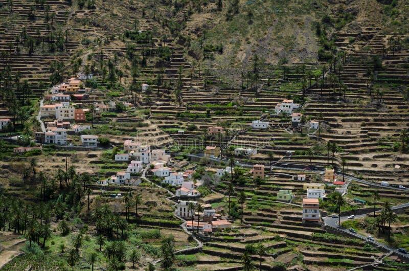 Valle Gran Rey royalty-vrije stock afbeelding
