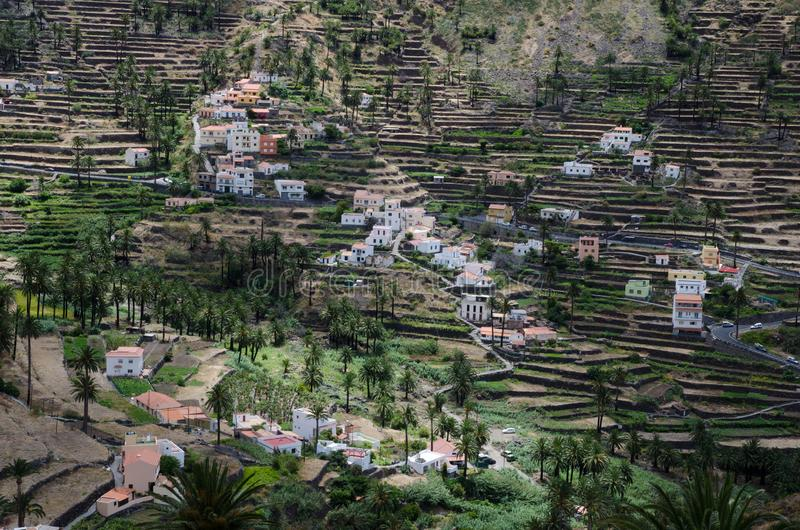 Valle Gran Rey стоковые фото