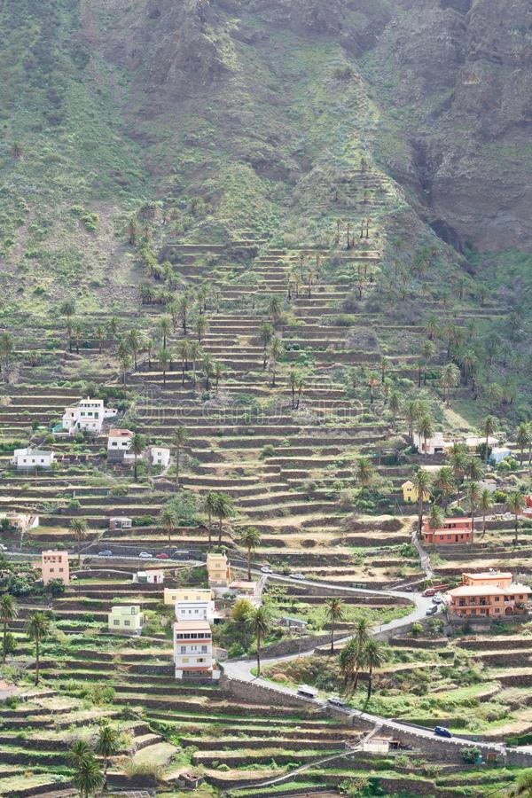 Valle Gran Rey stock fotografie