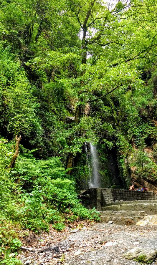 Valle Himachal Pradesh India di Jibhi fotografie stock libere da diritti