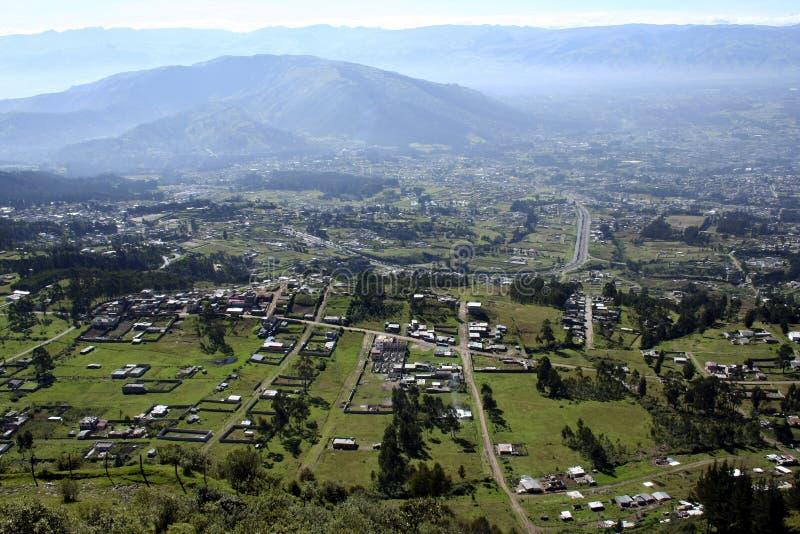 Valle Inter-Andino fotografía de archivo libre de regalías
