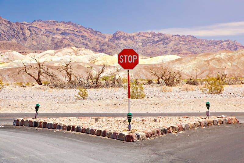 Valle morta in California fotografia stock libera da diritti